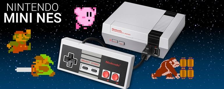 La NES Classic Mini es la tercera consola más vendida de EEUU en enero