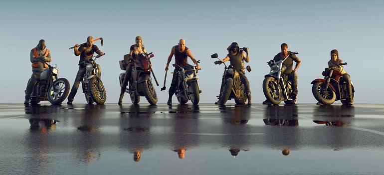 Road Rage, un juego de peleas en moto, se estrena el 24 de octubre
