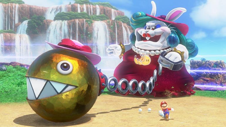 Filtrado el primer 10 de Super Mario Odyssey