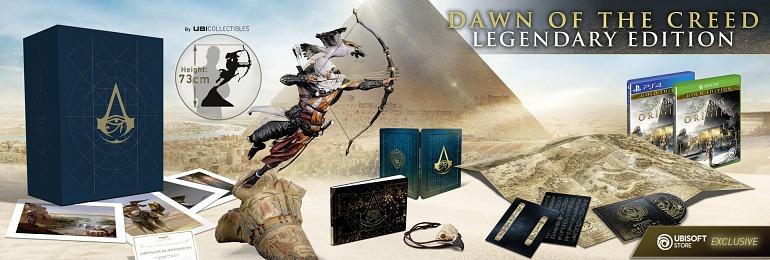 Filtran la edición coleccionista de Assassin's Creed: Origins