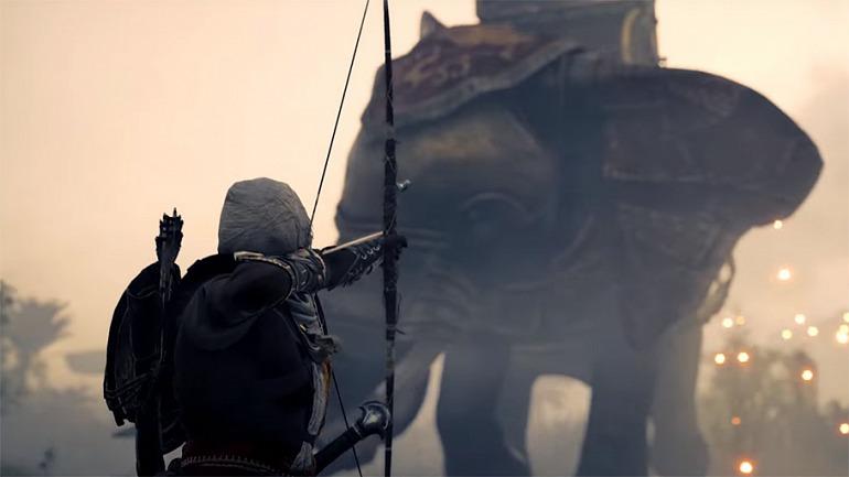 Assassin's Creed Origins tendrá elefantes de guerra