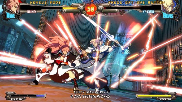 Guilty Gear Xrd REV 2 ya tiene demo para PS3 y PS4