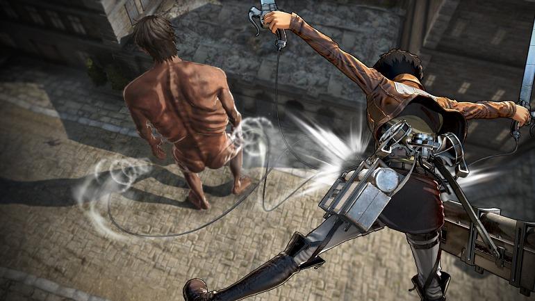 Attack on Titan 2 presentará nueva demo en la Paris Games Week