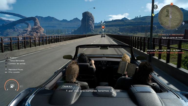 Un aficionado descubre zonas inaccesibles de Final Fantasy XV