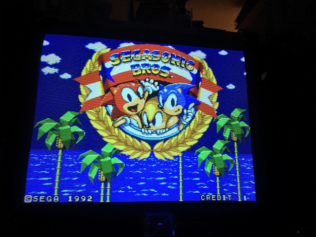 Descubierto un juego prototipo desconocido de Sonic en recreativas