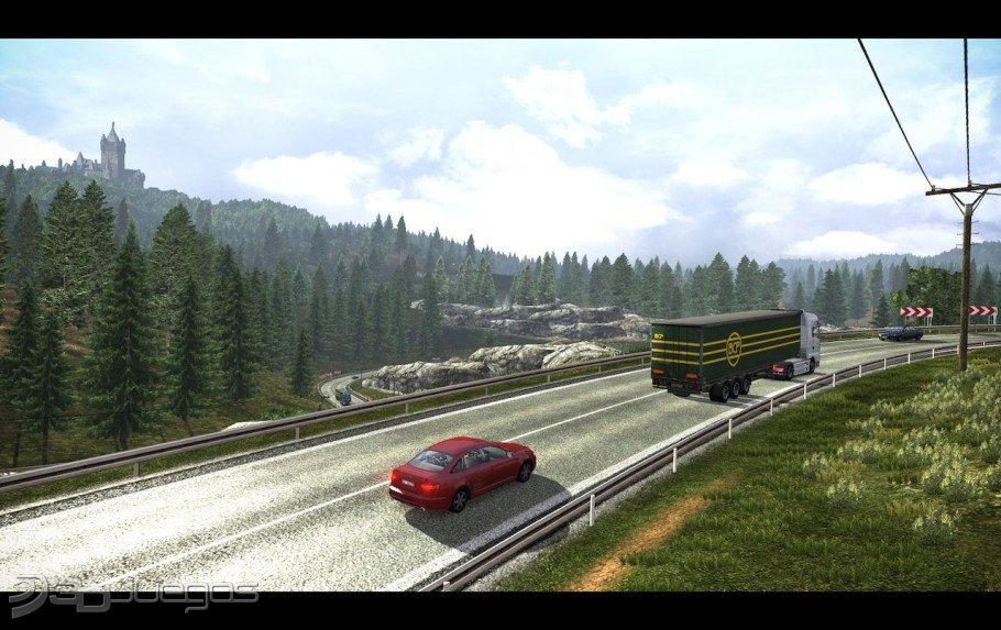 Euro Truck Simulator 2 أحسن لعبة سياقة الشاحنات