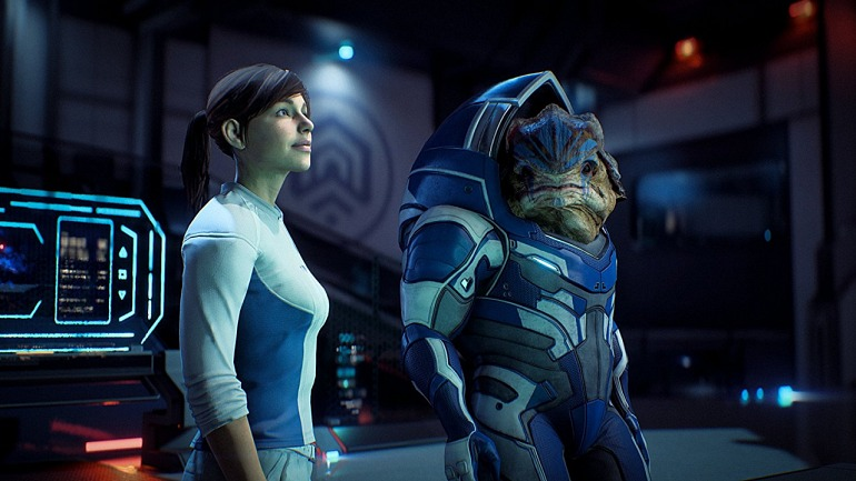 El ESRB adelanta desnudos integrales en Mass Effect Andromeda