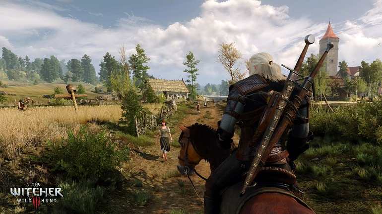 Project Scorpio: especulan con The Witcher 3 a 4K sin parches