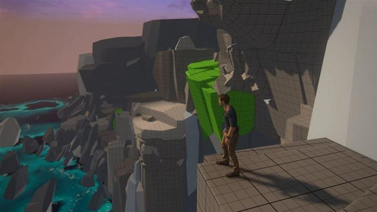 Así son los mapas de los juegos antes de estar terminados